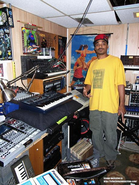 Omar-S in studio….