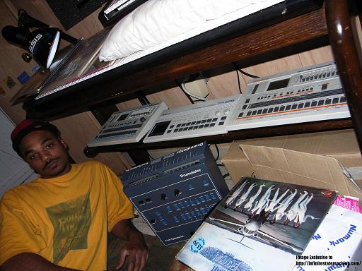 Omar-S loves Roland drum machines….